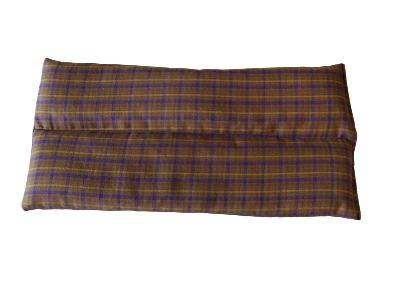 Brown Tartan Thigh Heat Pad