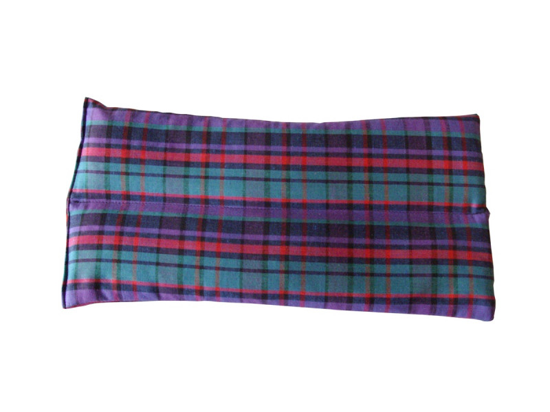 Purple Tartan Thigh Heat Pad