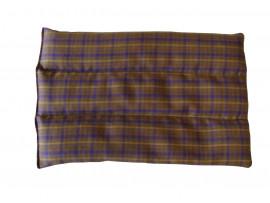 Brown Tartan Back Heat Pad
