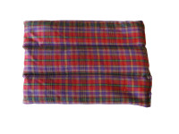 Red Tartan Back Heat Pad