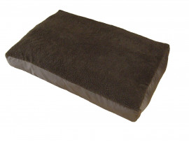 Brown - Mattress Dog Bed