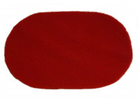 PnH Veterinary Bedding - OVAL - Red