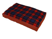 Red Tartan - Mattress Dog Bed