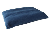 Harbour Blue - Sherpa Fleece Dog Bed Cushion