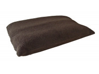 Brown - Sherpa Fleece Dog Bed Cushion