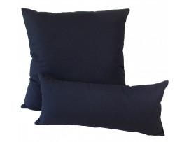 Black Cotton - Cushion & Bolster Set