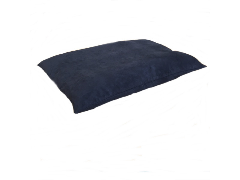 Faux Suede Dog Bed Cushion - Black