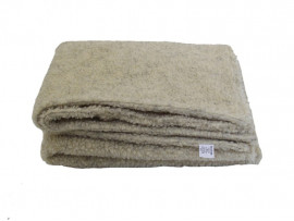 Cashmere Cream Sherpa Fleece Dog Blanket  DOUBLE LAYERS FOR EXTRA COMFORT