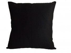 Black Corduroy Scatter Cushion (45cm x 45cm) - COMPLETE WITH HOLLOW FIBRE FILLED INNER