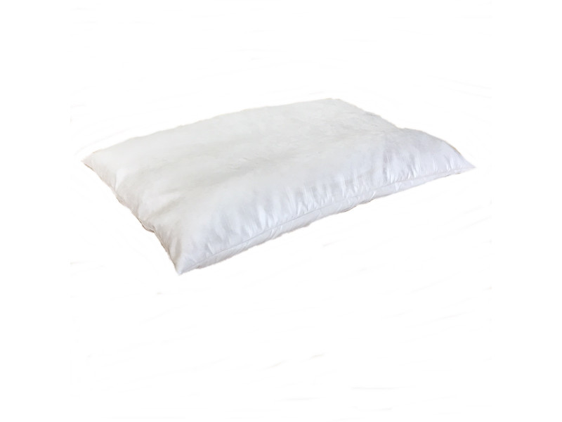 Faux Suede Dog Bed Cushion - Cream