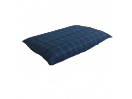 Blue & Green Tartan Dog Bed Cushion