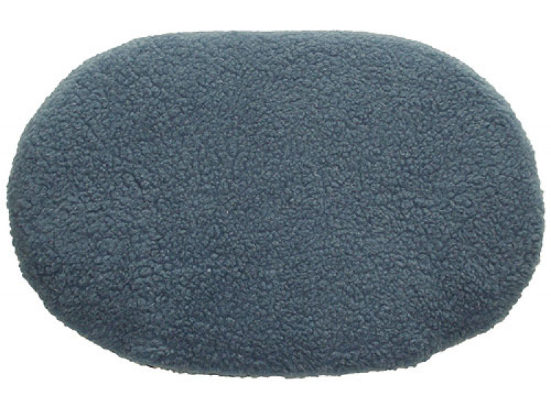 Fleece Oval Pad - Blue