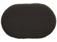 Fleece Oval Pad - Brown