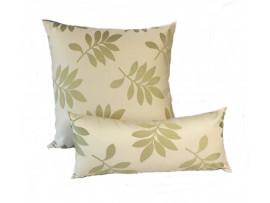Green Leaf - Cushion & Bolster Set