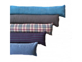 Draught Excluder - Blue Velour