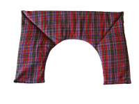 Red Tartan Neck Heat Pad
