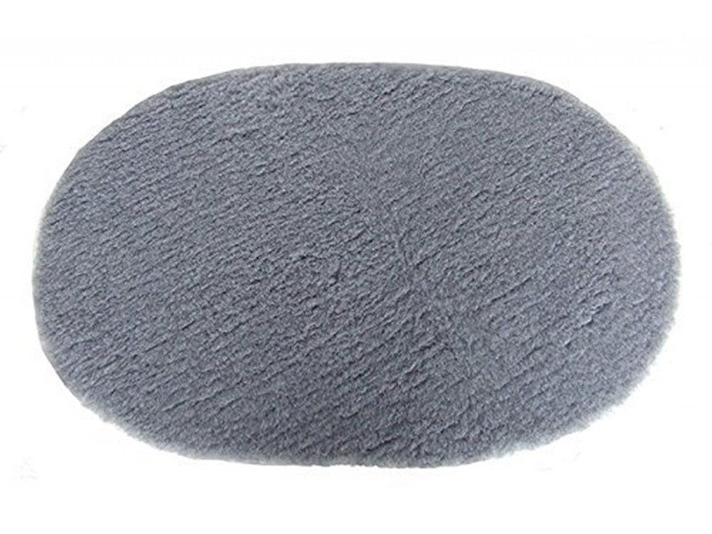 PnH Veterinary Bedding - NON SLIP - Oval - Plain Grey