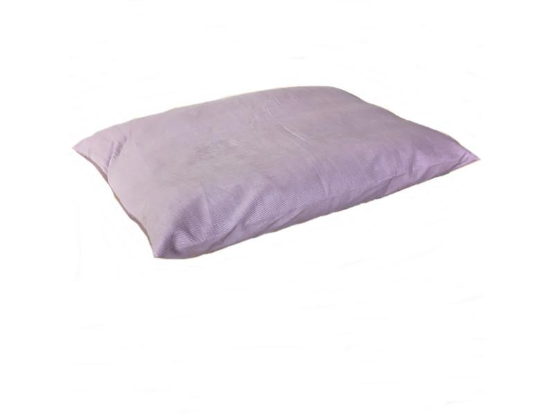 Cord Dog Bed Cushion - Pink