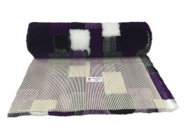 PnH Veterinary Bedding - NON SLIP - By The Roll - Purple Patchwork
