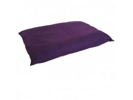 Cord Dog Bed Cushion - Purple