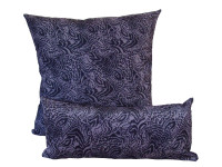 Purple Print - Cushion & Bolster Set