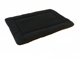 Polar Fleece Quilted Dog Pad - Black