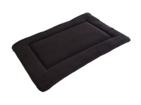 Polar Fleece Quilted Dog Pad - Brown