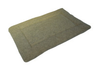 Sherpa Fleece Quilted Dog Pad - Cashmere Cream