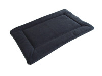 Polar Fleece Quilted Dog Pad - Grey