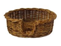 Rattan Dog Basket - Small (59cm)
