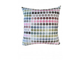 Spotty Scatter Cushion - 45cm x 45cm - COMPLETE WITH HOLLOW FIBRE FILLED INNER